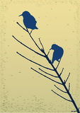 κλάδος πουλιών απεικόνιση αποθεμάτων