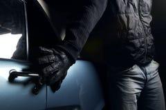κλέφτης αυτοκινήτων Στοκ φωτογραφίες με δικαίωμα ελεύθερης χρήσης