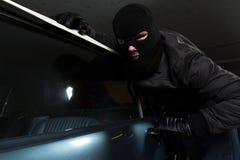 Κλέφτης αυτοκινήτων Στοκ εικόνα με δικαίωμα ελεύθερης χρήσης