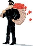 Κλέφτης των καρδιών απεικόνιση αποθεμάτων