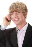κλήση επιχειρηματιών Στοκ Φωτογραφία