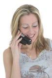 κλήση ευτυχής στοκ φωτογραφίες με δικαίωμα ελεύθερης χρήσης