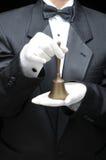 κλήση κουδουνιών bulter στοκ φωτογραφία με δικαίωμα ελεύθερης χρήσης