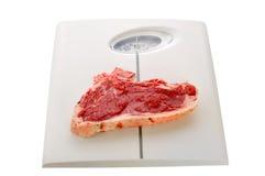 κλίμακα κρέατος Στοκ φωτογραφίες με δικαίωμα ελεύθερης χρήσης