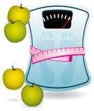 κλίμακα λουτρών μήλων ελεύθερη απεικόνιση δικαιώματος
