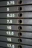 Κλίμακα στοιβών βάρους Στοκ φωτογραφία με δικαίωμα ελεύθερης χρήσης