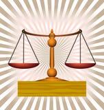 κλίμακες ισορροπίας Στοκ φωτογραφίες με δικαίωμα ελεύθερης χρήσης