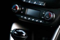 Κλίμα Controle ταμπλό αυτοκινήτων Έννοια 2 αυτοκινήτων στοκ φωτογραφίες με δικαίωμα ελεύθερης χρήσης