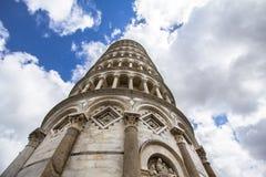 Κλίνοντας πύργος της Πίζας, Ιταλία Στοκ εικόνα με δικαίωμα ελεύθερης χρήσης