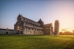 Κλίνοντας πύργος της Πίζας στην Πίζα - την Ιταλία στοκ εικόνες με δικαίωμα ελεύθερης χρήσης