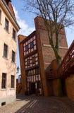 κλίνοντας πύργος της Πολωνίας Τορούν στοκ φωτογραφίες
