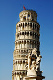 κλίνοντας πύργος piza Στοκ Εικόνα