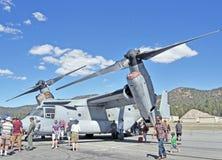 Κλίνοντος στροφείο αεροπλάνο Osprey Στοκ φωτογραφία με δικαίωμα ελεύθερης χρήσης