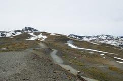 Κλίσεις άνοιξη του βουνού Veleta Στοκ εικόνα με δικαίωμα ελεύθερης χρήσης