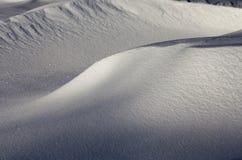 Κλίσεις χιονιού το χειμώνα Στοκ Φωτογραφίες