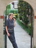 κλίση κινητών τηλεφώνων στοκ φωτογραφίες