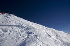 κλίση σκι Στοκ Εικόνα