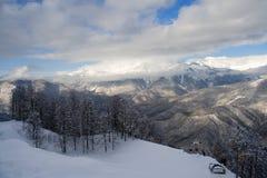 κλίση χιονώδης στοκ φωτογραφίες με δικαίωμα ελεύθερης χρήσης
