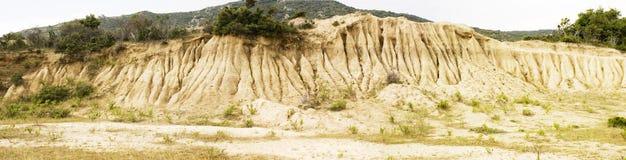 κλίση ψαμμίτη διάβρωσης Στοκ Φωτογραφία