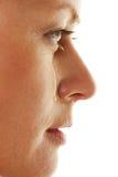 Κλαίγοντας, λυπημένη γυναίκα με τα δάκρυα στοκ εικόνα με δικαίωμα ελεύθερης χρήσης