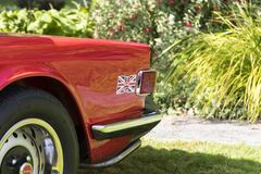 Κλασικά βρετανικά αυτοκίνητα Στοκ φωτογραφία με δικαίωμα ελεύθερης χρήσης