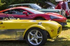 Κλασικά βρετανικά αυτοκίνητα Στοκ Φωτογραφία