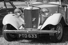 Κλασικά βρετανικά αυτοκίνητα Στοκ εικόνα με δικαίωμα ελεύθερης χρήσης
