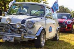 Κλασικά βρετανικά αυτοκίνητα Στοκ φωτογραφίες με δικαίωμα ελεύθερης χρήσης
