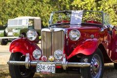 Κλασικά βρετανικά αυτοκίνητα Στοκ εικόνες με δικαίωμα ελεύθερης χρήσης