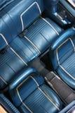 κλασικά καθίσματα αυτο&ka στοκ φωτογραφία