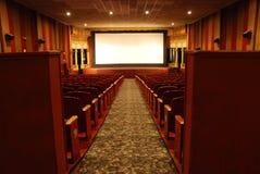 κλασική κινηματογραφική αίθουσα Στοκ Εικόνα