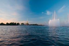 κλασική σύγχρονη Πετρούπολη ST Στοκ Εικόνα