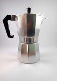 κλασικός ιταλικός κατασκευαστής καφέ Στοκ Εικόνα