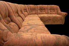 κλασικός καναπές γωνιών Στοκ Εικόνα