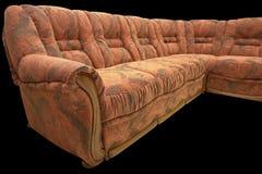 κλασικός καναπές γωνιών Στοκ εικόνα με δικαίωμα ελεύθερης χρήσης