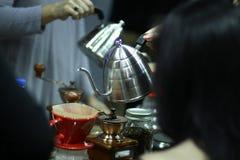 Κλασικός καφές δοχείων στοκ φωτογραφία με δικαίωμα ελεύθερης χρήσης