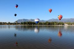 Κλασικός μπαλονιών του Colorado Springs Στοκ εικόνες με δικαίωμα ελεύθερης χρήσης