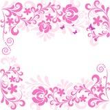 κλασικός floral μαλακός ανασ&ka ελεύθερη απεικόνιση δικαιώματος