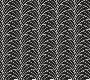 Κλασικό άνευ ραφής σχέδιο του Art Deco Γεωμετρική μοντέρνη σύσταση Αφηρημένη αναδρομική διανυσματική σύσταση Ελεύθερη απεικόνιση δικαιώματος