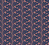 Κλασικό άνευ ραφής σχέδιο του Art Deco Γεωμετρική μοντέρνη σύσταση Αφηρημένη αναδρομική διανυσματική σύσταση Στοκ Φωτογραφία