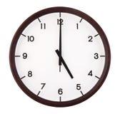 Κλασικό αναλογικό ρολόι Στοκ Εικόνες