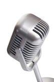 κλασικό απομονωμένο μικρόφωνο Στοκ Φωτογραφία