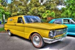 κλασικό αυστραλιανό βαγόνι εμπορευμάτων γερακιών XP της Ford της δεκαετίας του '60 στοκ εικόνες