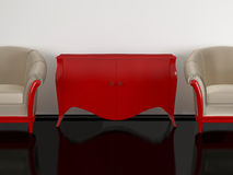 κλασικό καθιστικό Στοκ Φωτογραφίες