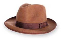 κλασικό καπέλο mens Στοκ Φωτογραφίες