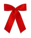 κλασικό κόκκινο giftbow Στοκ Εικόνα