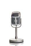 κλασικό μικρόφωνο Στοκ φωτογραφίες με δικαίωμα ελεύθερης χρήσης