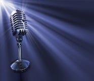 κλασικό μικρόφωνο Στοκ φωτογραφία με δικαίωμα ελεύθερης χρήσης