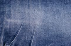 Κλασικό μπλε υπόβαθρο τζιν στοκ εικόνα με δικαίωμα ελεύθερης χρήσης