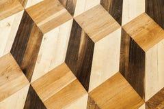 Κλασικό ξύλινο σχέδιο δαπέδων παρκέ Στοκ Εικόνες
